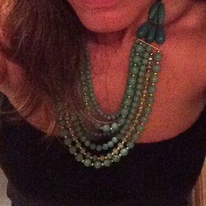 Jewelry - Jade Pearls Statement Necklace